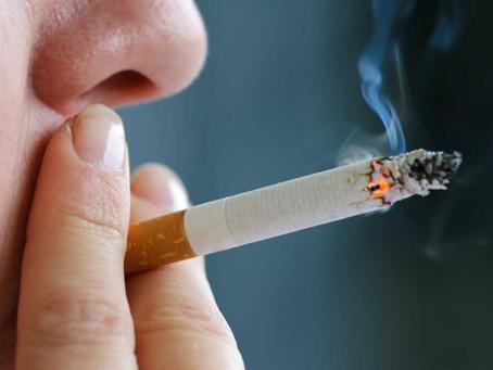 С 31 мая курение в общественных местах запрещено