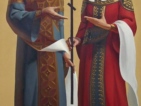 3 июня - день равноапостольных царя Константина и матери его царицы Елены