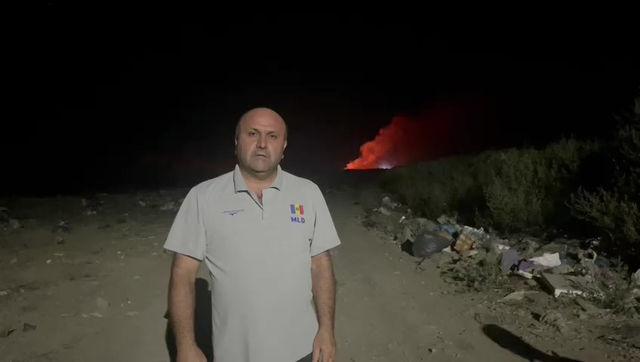 Виктор Петриоглу о поджоге мусорного полигона (ВИДЕО)