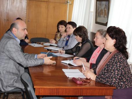 Заседание с директорами детских садов