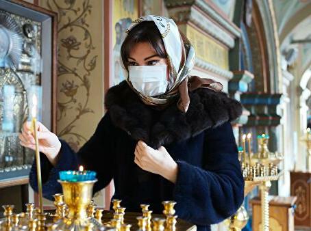 Снижение риска заражения вирусом во время проведения богослужений