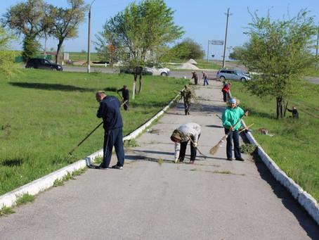 Примария учавствует в уборке города
