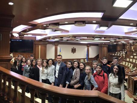 Экскурсия в Парламент и Конституционный суд