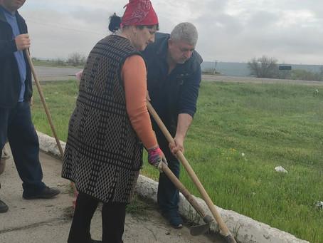 Коллектив примарии города Вулканешты организовал санитарную пятницу