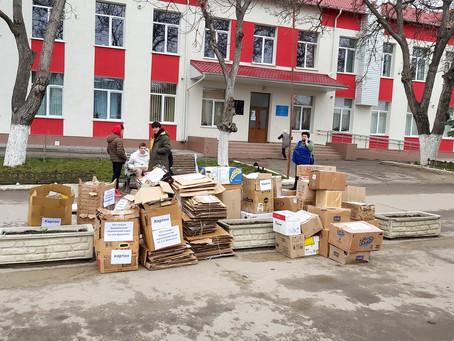 Проект «Экологика будущего»: 𝟱,𝟱 тонн макулатуры собрали учебные заведения Вулканештского района