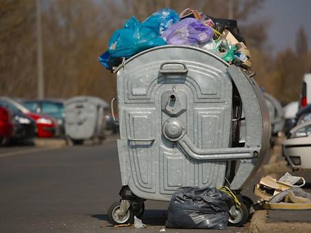 Сбор мусора в городе Вулканешты временно приостановлен