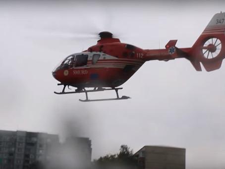 Деятельность вертолетов SMURD в Молдове временно приостановлена