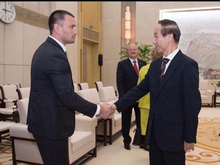 Депутат парламента РМ, Корнел Дудник в составе делегации посетилКитайскую народную республику