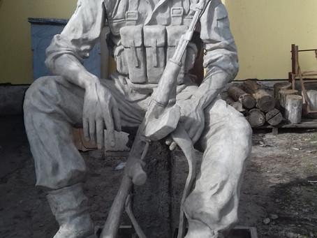 В город Вулканешты доставлен памятник воинам - афганцам