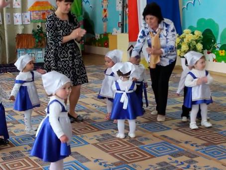 """""""Ana dili"""" в детском саду №8"""