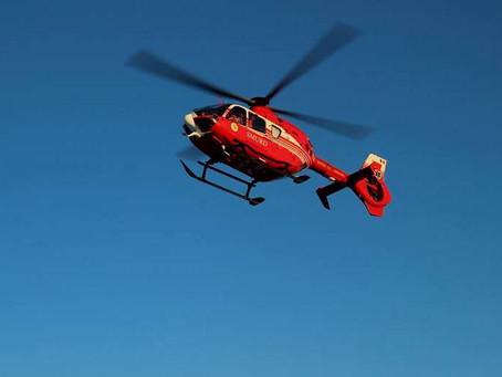 Вертолет SMURD доставил в Кишинев