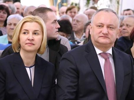 Додон обвинил башкана Гагаузии в предательстве