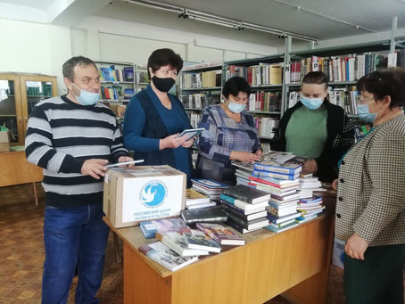 Библиотека Вулканешт получила в дар от Россотрудничества более 100 книг