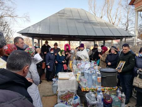 В городе Вулканешты прошла литургия, посвященная Крещению Господне