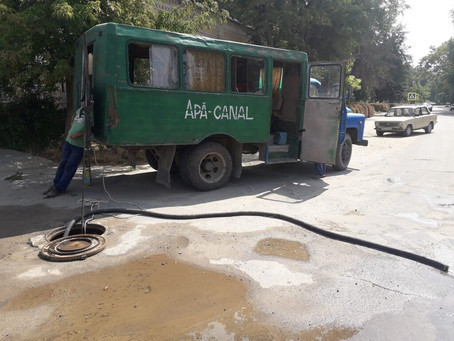 В центре города Вулканешты произошел прорыв водопровода. Временно приостановлена подача воды
