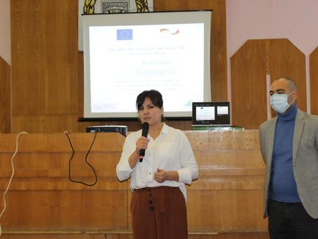 В примарии города Вулканешты состоялась инфосессия по реализации проекта «ЭкоЛогика будущего»