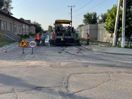 Примария города Вулканешты ремонтирует участки некоторых улиц
