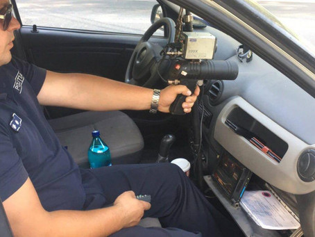 На двух участках дорог в Гагаузии сегодня дежурят машины полиции с радарами
