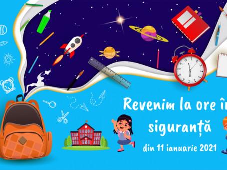11 января школьники Гагаузии вернутся в учебные заведения