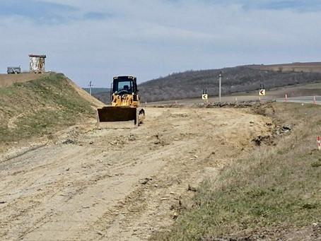 Будет отремонтирован участок дороги Хынчешты-Леова-Кагул-Джурджулешты