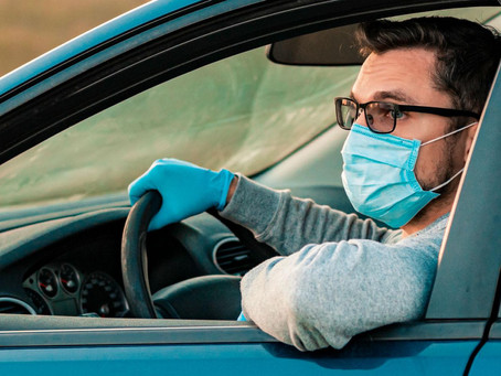 Усиливается контроль в автомобильном и пассажирском транспорте на соблюдение мер против ковида