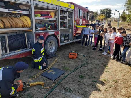 Отдел ЧС провел инструктивные занятия  для учащихся Вулканештского района