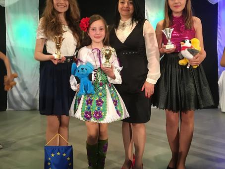 Анастасия Левченко заняла первое место на вокальном фестивале в Будапеште