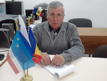 Примария города Вулканешты и городской Совет поздравляет с юбилеем Туфар Дмитрия Ивановича