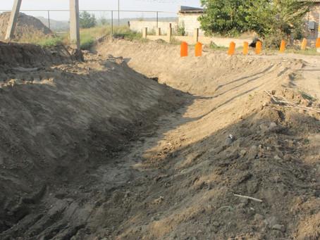 Реконструкция дороги в городе Вулканешты