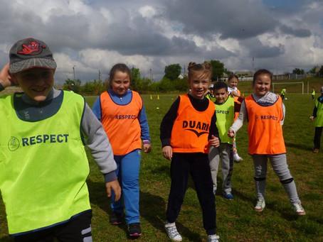 Фестиваль футбола для школьников