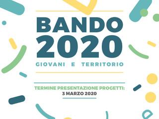 Aperto il BANDO 2020!!!
