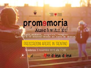 Promemoria_Auschwitz.eu: aperte le preiscrizioni!