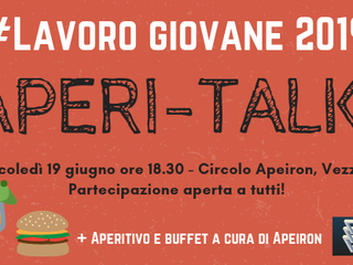 Aperi-talk! - 19 giugno @Circolo_Apeiron!