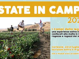 ESTATE IN CAMPO 2019! (A Corleone dal 22 al 31 luglio 2019!)
