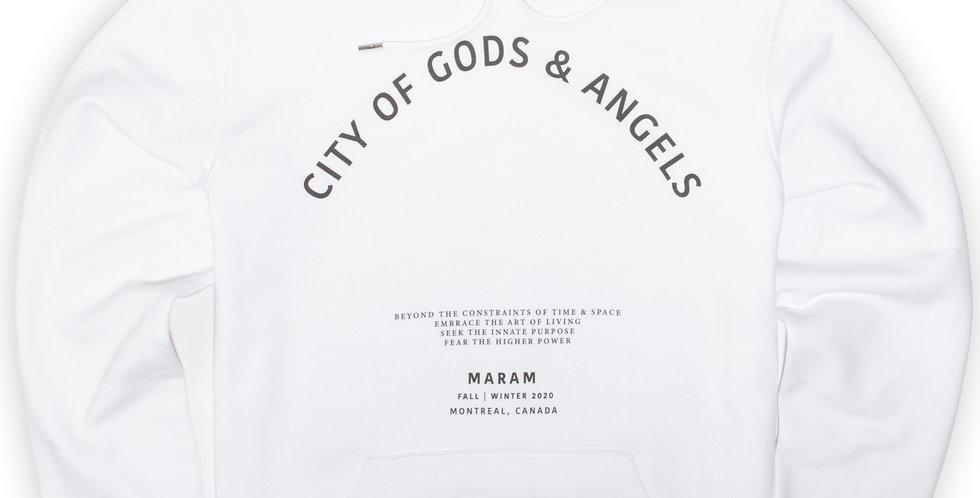 """CITY OF GODS & ANGELS"" HOODIE"