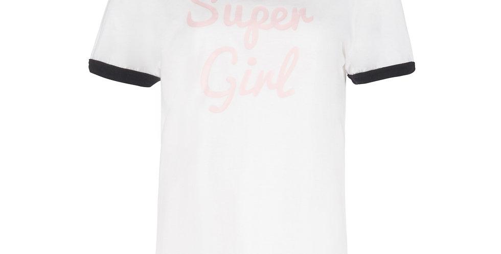 """ Super Girl"" retro T-shirt"