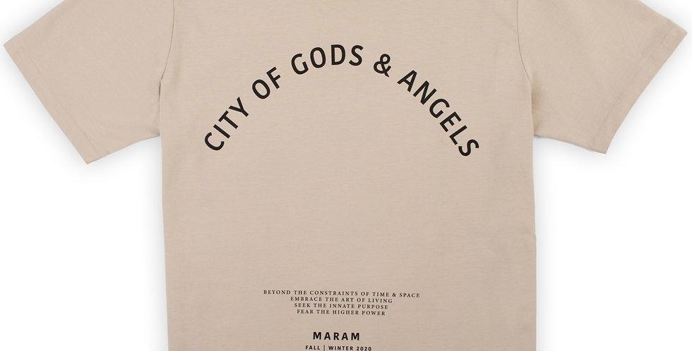 """CITY OF GODS & ANGELS"" T-SHIRT"