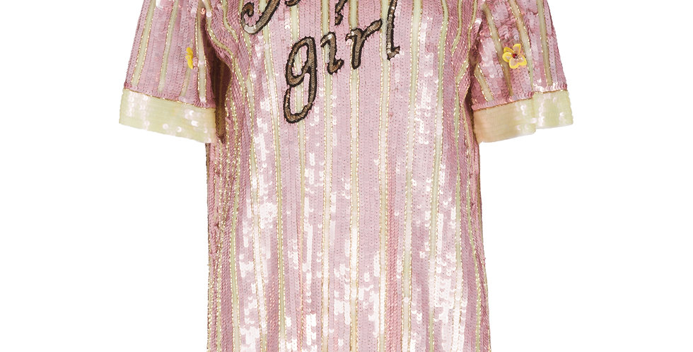 """ Super Girl"" T-shirt Dress"