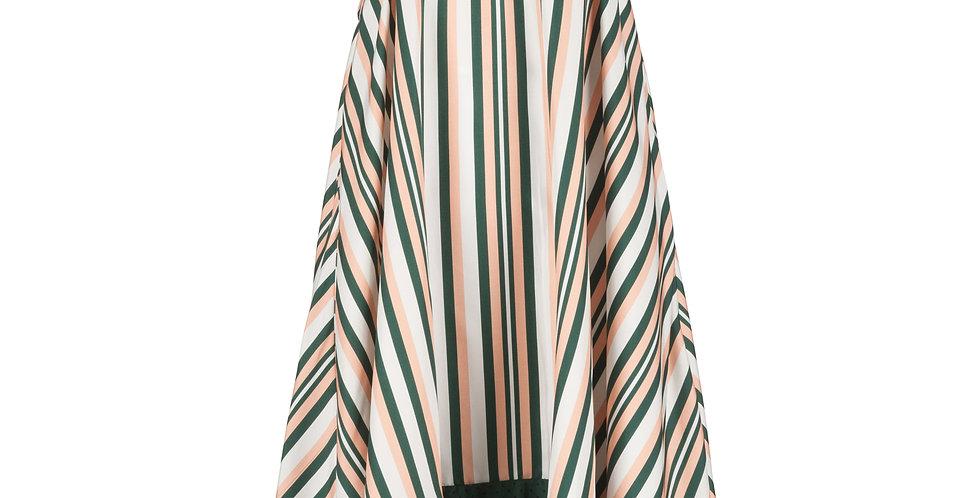 Strapless Mini Dress with Wrap
