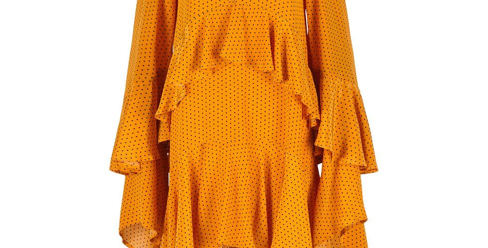 Polka Ruffle Dress