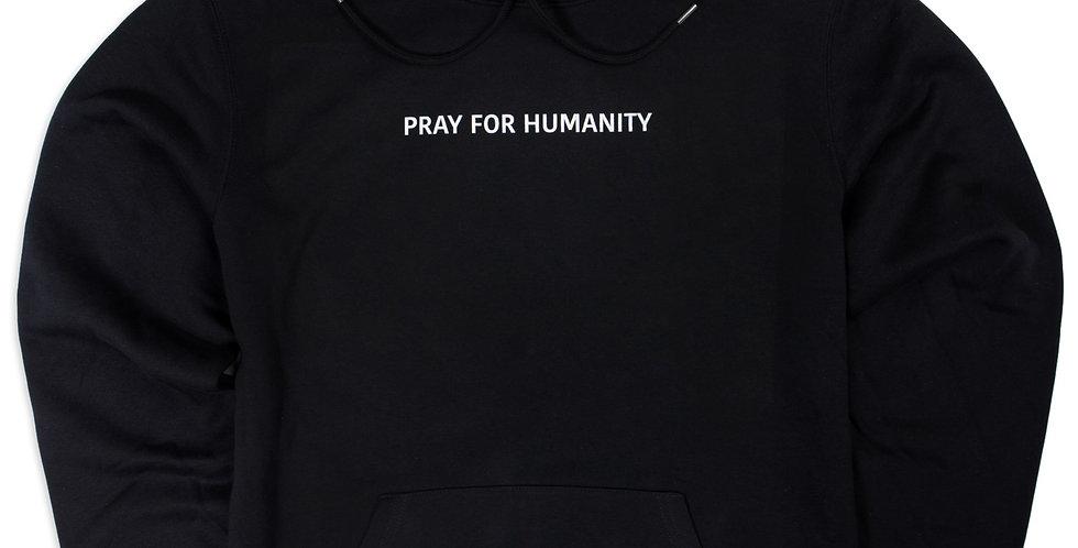 """PRAY FOR HUMANITY"" BASIC HOODIE"