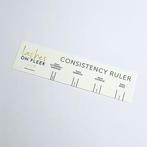 Consistency Ruler©
