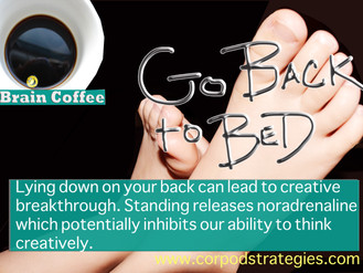 Brain Coffee:  Go Back To Bed!