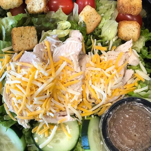 Grilled Chicken Salad w/ranch dressing