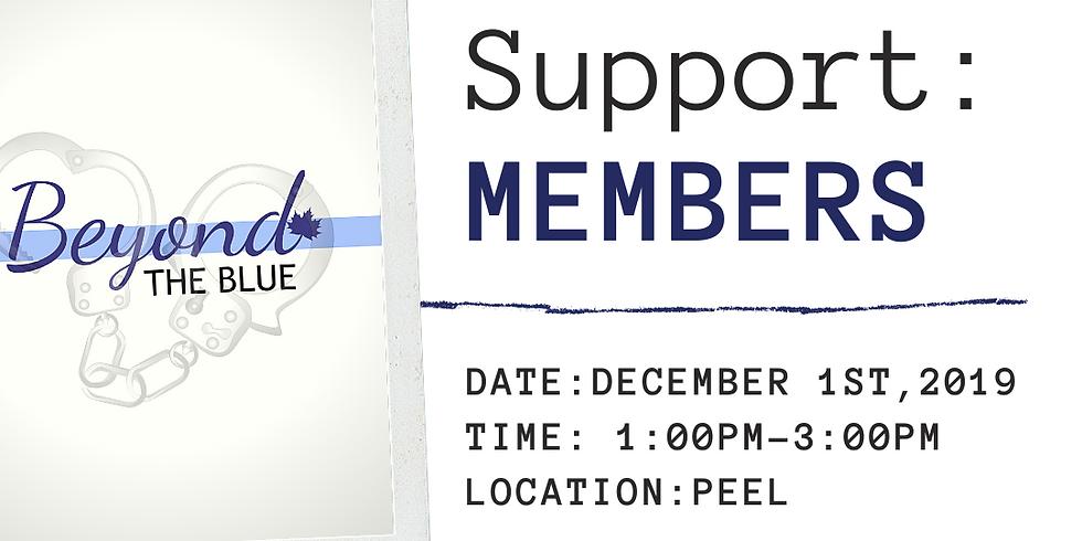MEMBERS Peer Support: PEEL REGION