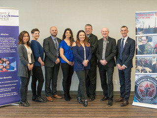 Media Release: Toronto Beyond The Blue Partners with Wounded Warriors Canada