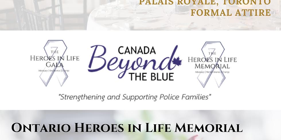 Ontario Heroes in Life Awards Gala & Memorial