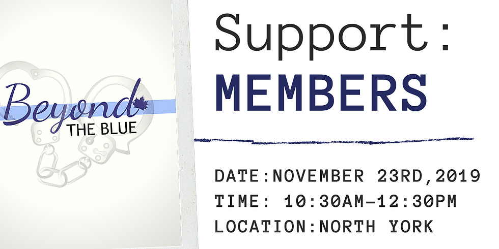 MEMBERS Peer Support: North York