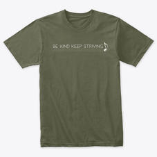Olive Triblend Tee