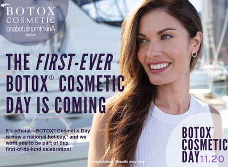 Is Botox right for me? Learn about Botox Cosmetic on November 20th!